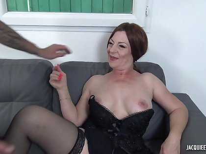 47 yo French MILF Veronique Porn Video