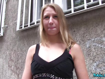 Milana Blanc fucked in benignity place chiefly video for some money