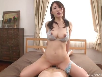 Japanese here expansive boobs, home cock riding porn special