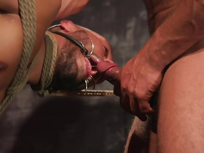 Massive maledom anal sex for the obedient gay lover